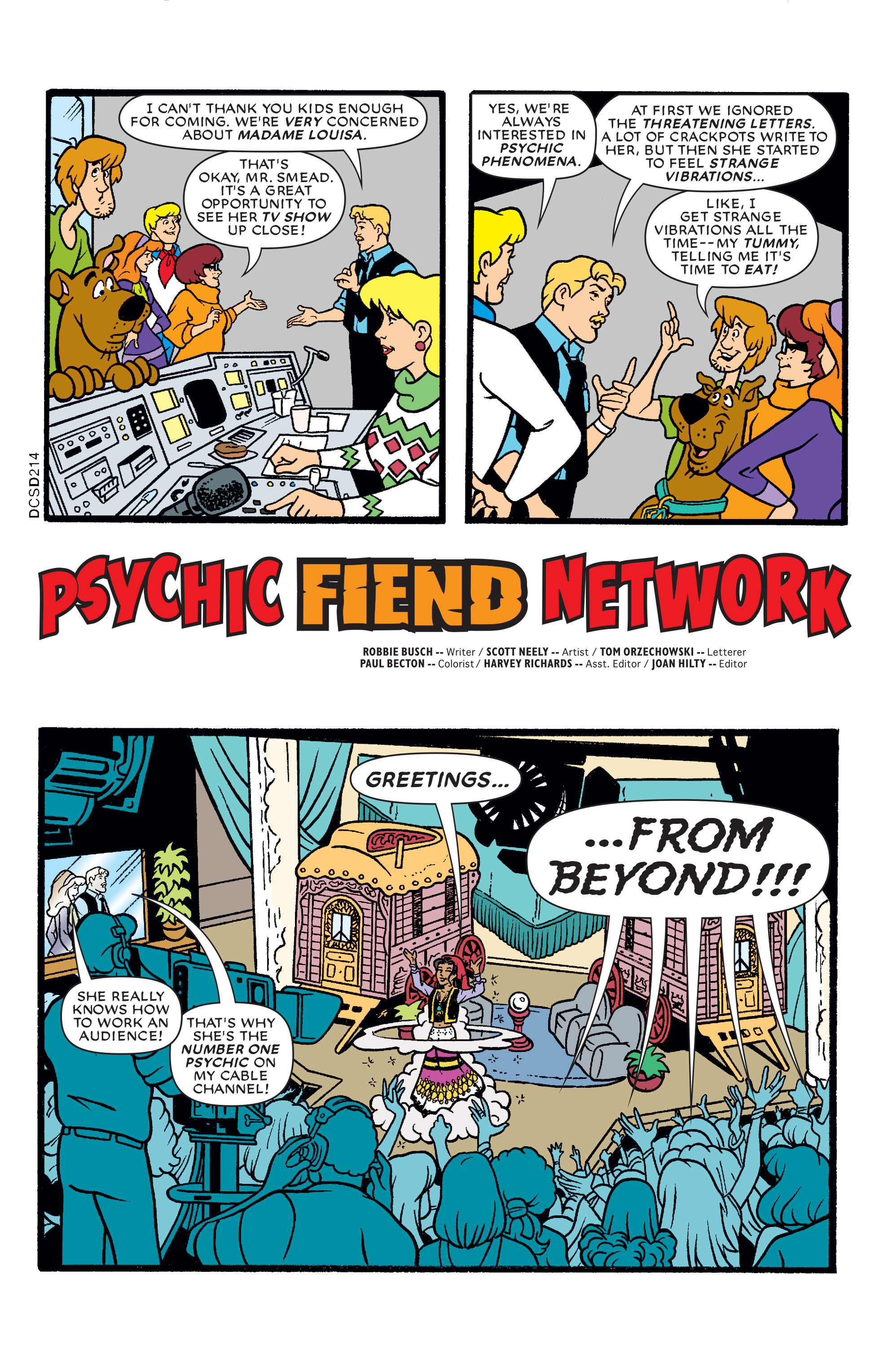 Read online Scooby-Doo: Where Are You? comic -  Issue #78 - 12