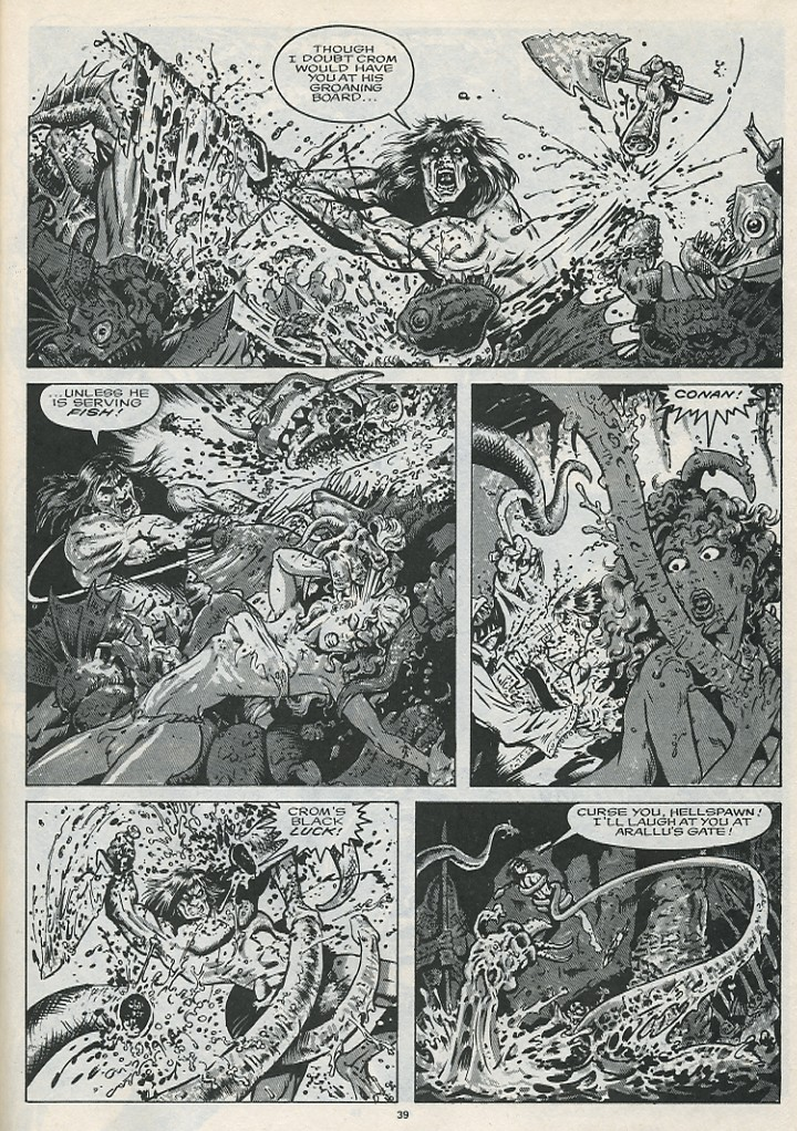 The Savage Sword Of Conan Issue #176 #177 - English 41