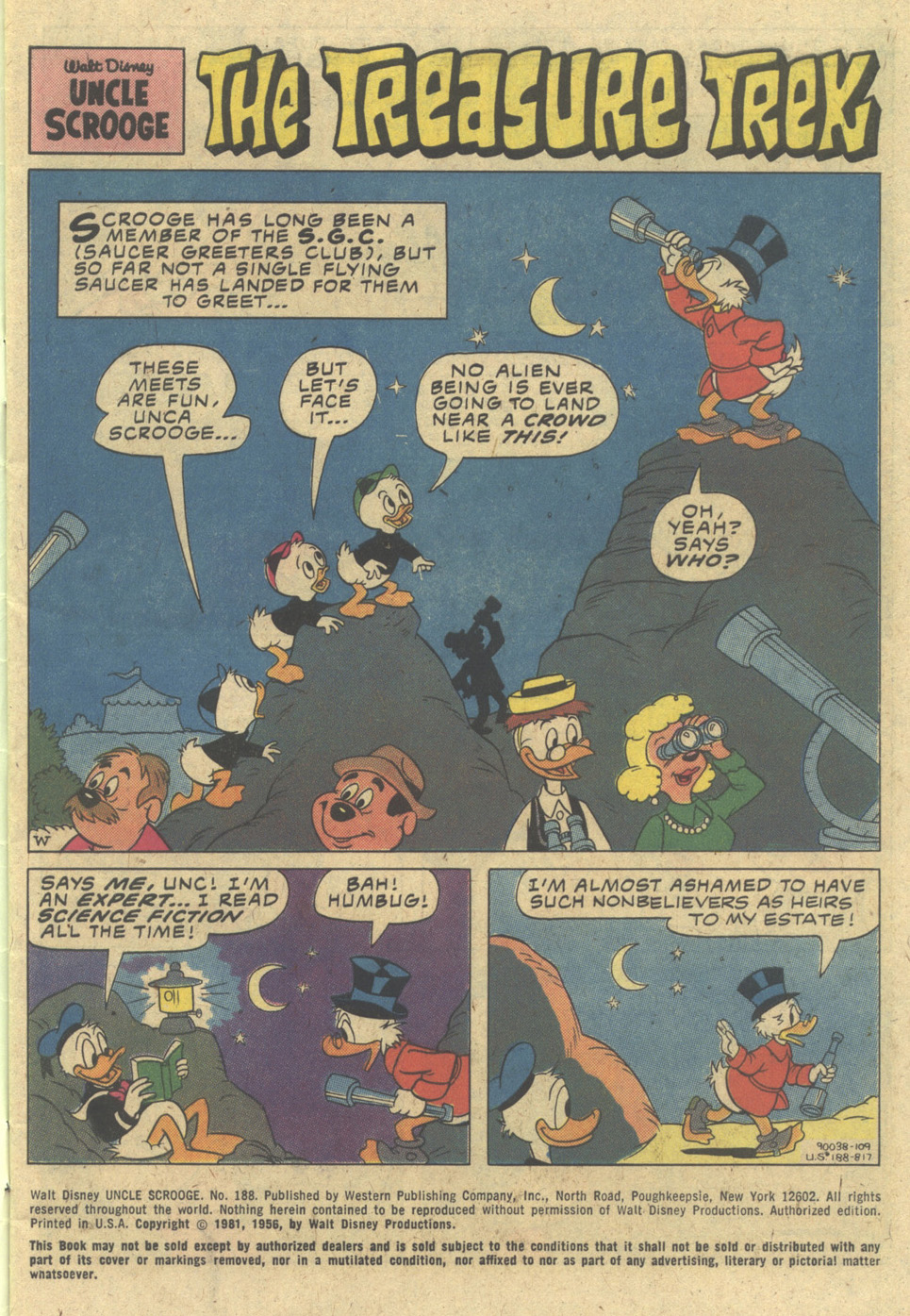 Uncle Scrooge (1953) Issue #188 #188 - English 3