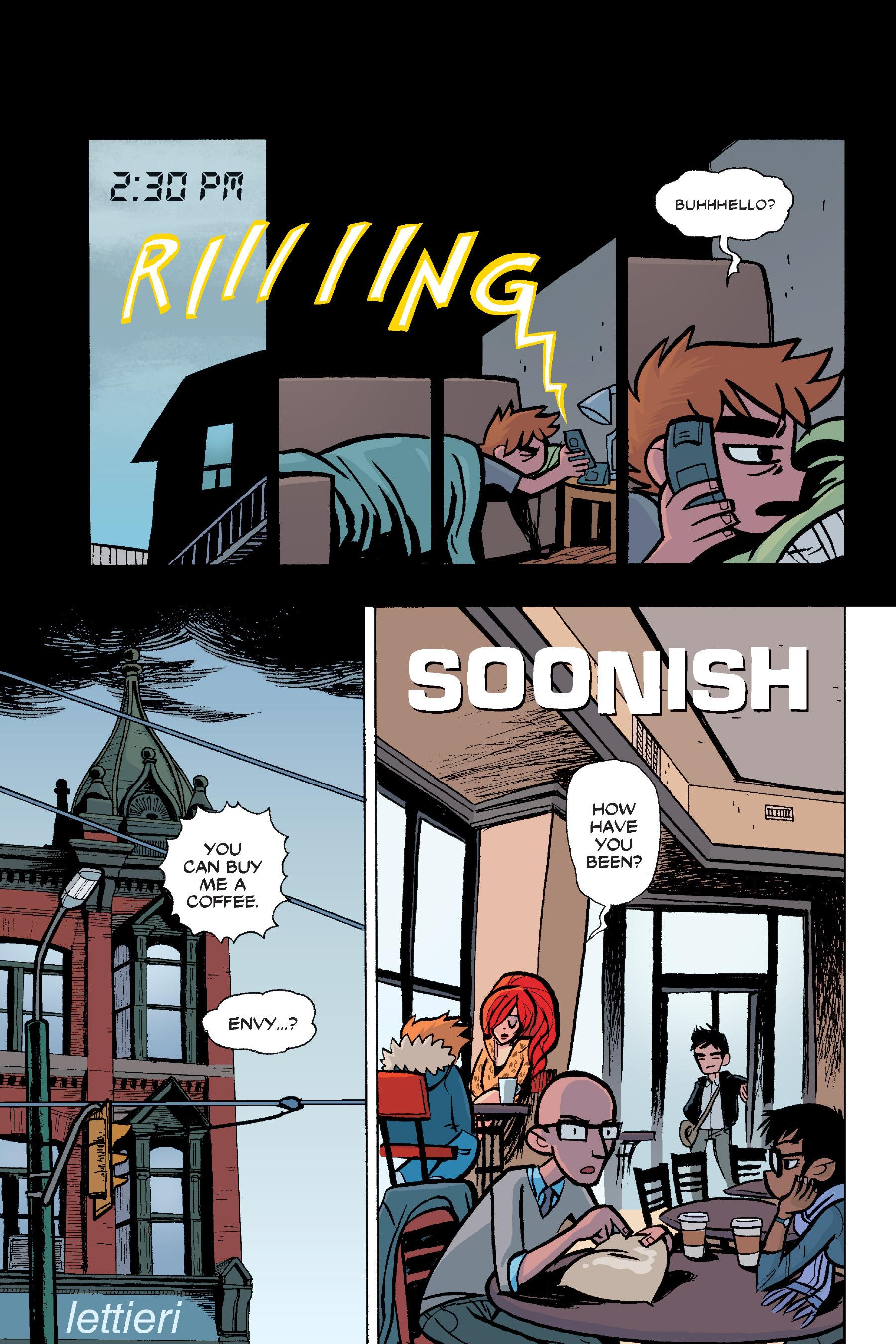 Read online Scott Pilgrim comic -  Issue #6 - 46