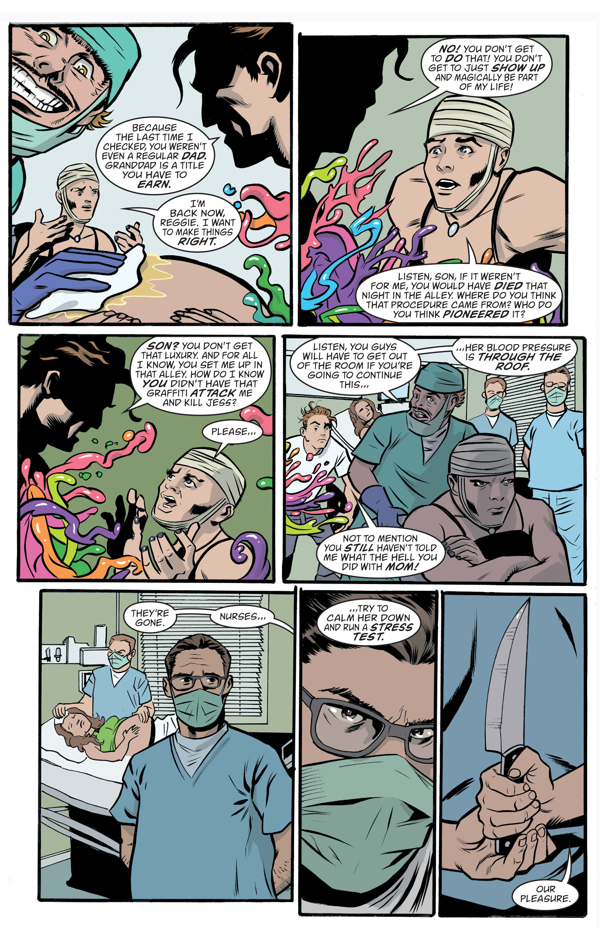 Read online Art Ops comic -  Issue #10 - 4