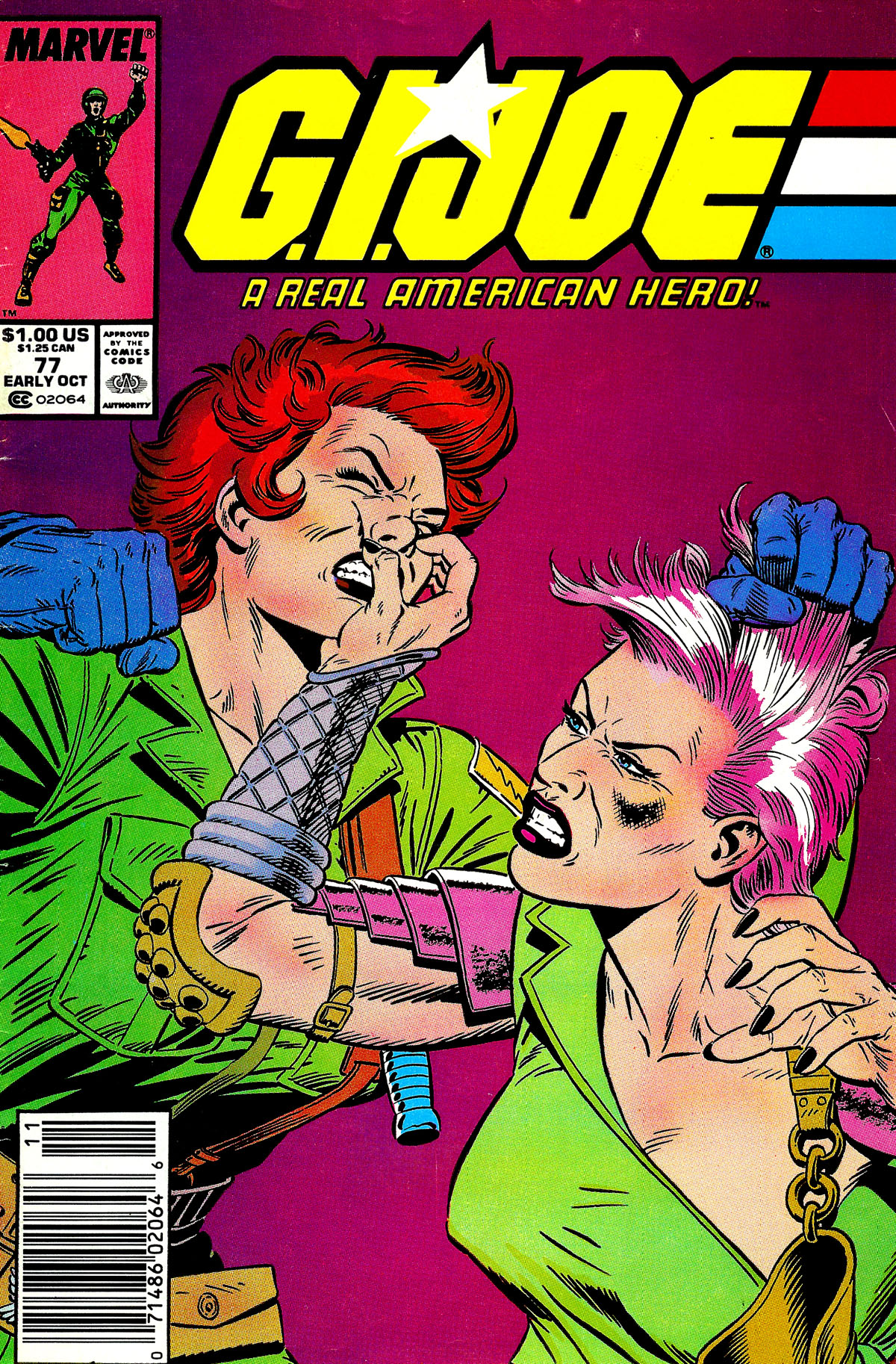 G.I. Joe: A Real American Hero 77 Page 1
