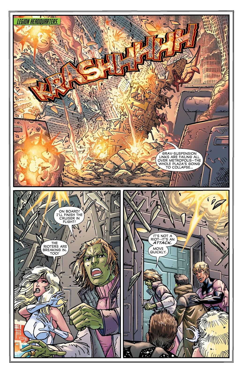 Legion of Super-Heroes (2011) Issue #18 #19 - English 17