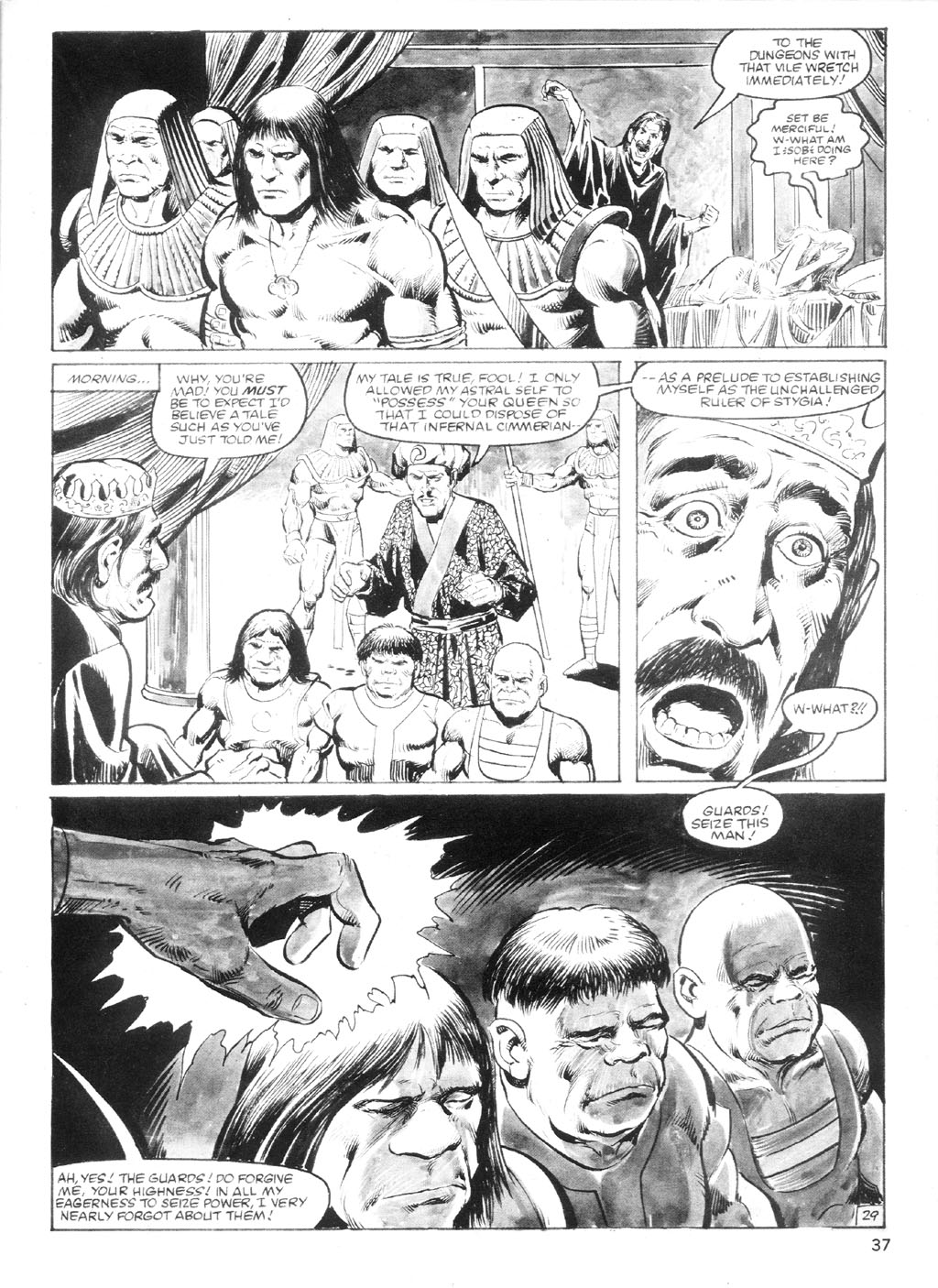 The Savage Sword Of Conan Issue #94 #95 - English 36