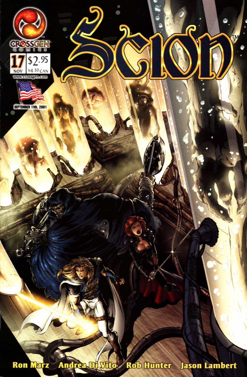 Read online Scion comic -  Issue #17 - 1