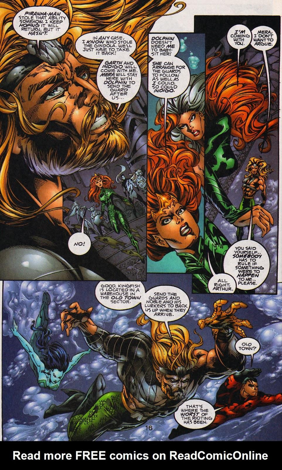 Aquaman (1994) Issue #59 #65 - English 17