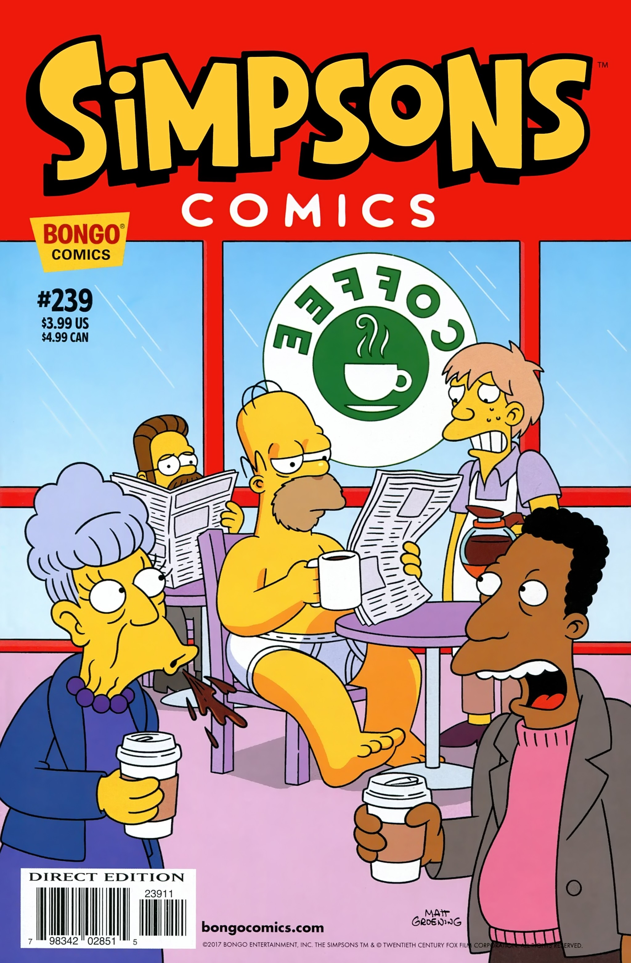 Simpsons Comics 239 Page 1