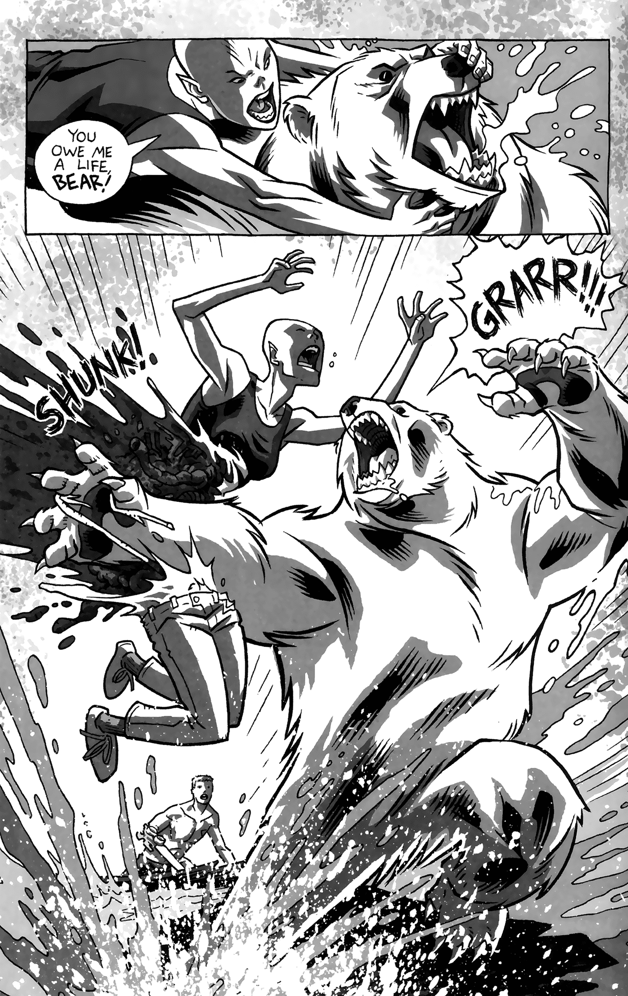 Read online Sea Bear & Grizzly Shark comic -  Issue # Full - 23