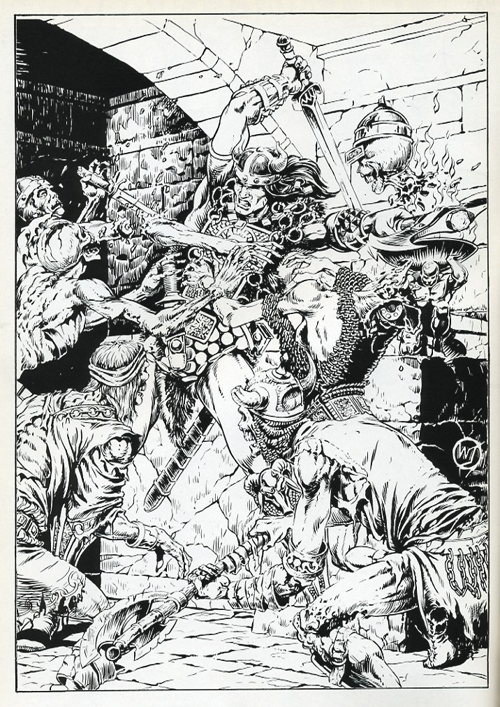 The Savage Sword Of Conan Issue #131 #132 - English 2