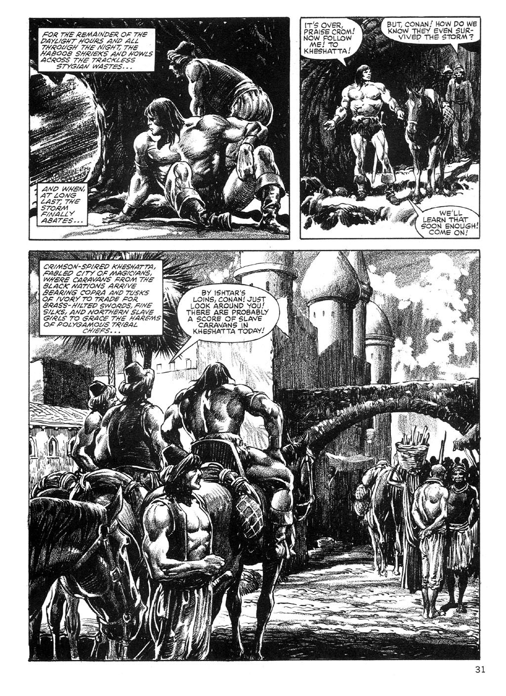 The Savage Sword Of Conan Issue #89 #90 - English 31