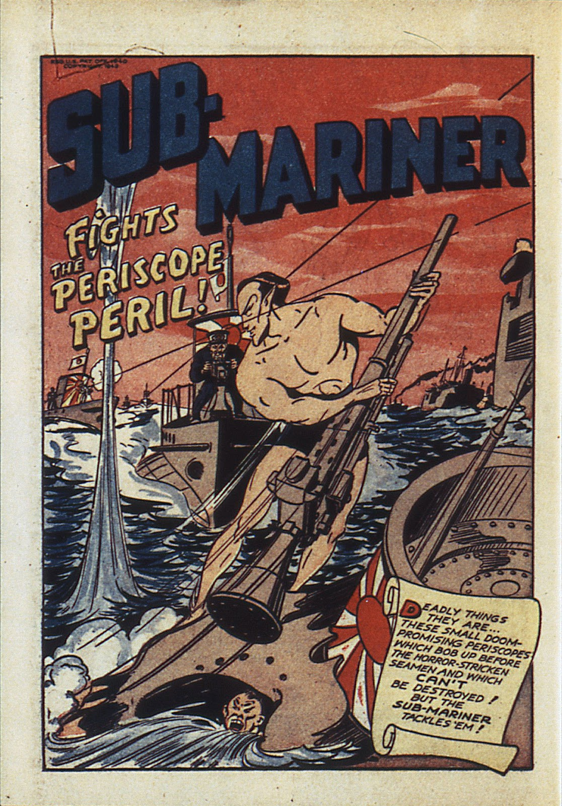 Sub-Mariner Comics Issue #6 #6 - English 25