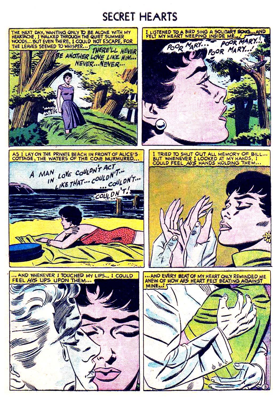Read online Secret Hearts comic -  Issue #41 - 29