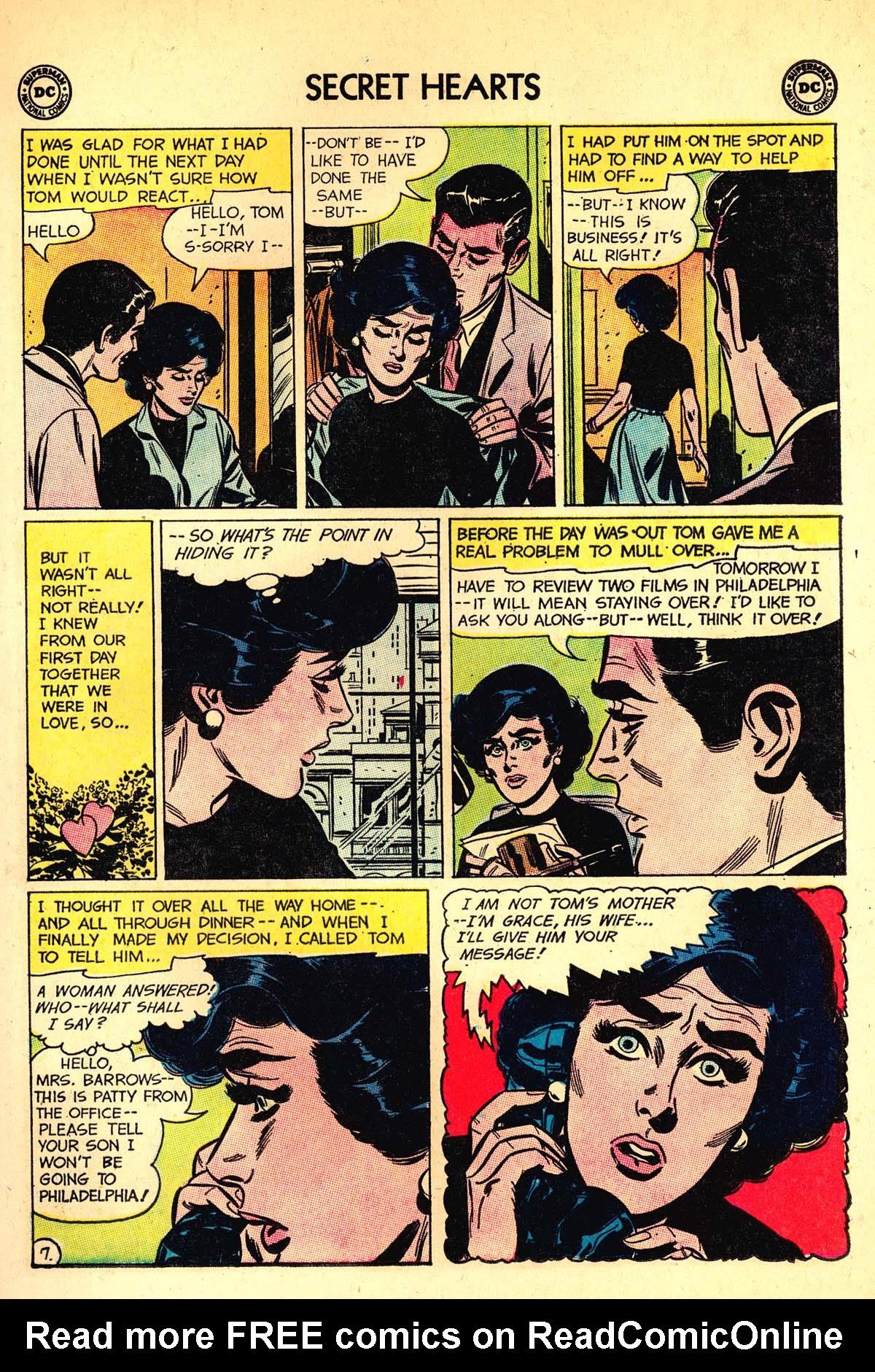 Read online Secret Hearts comic -  Issue #89 - 9