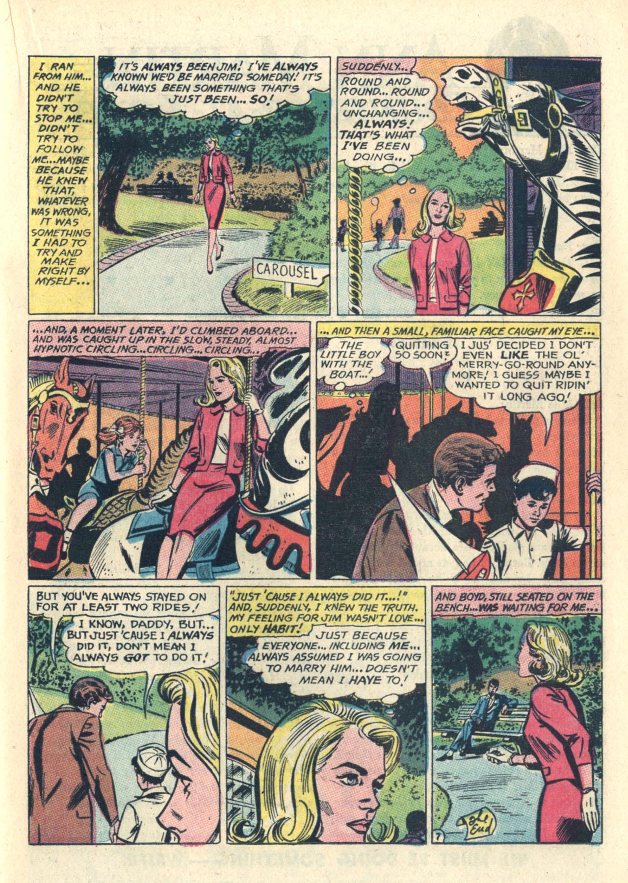 Read online Secret Hearts comic -  Issue #112 - 17