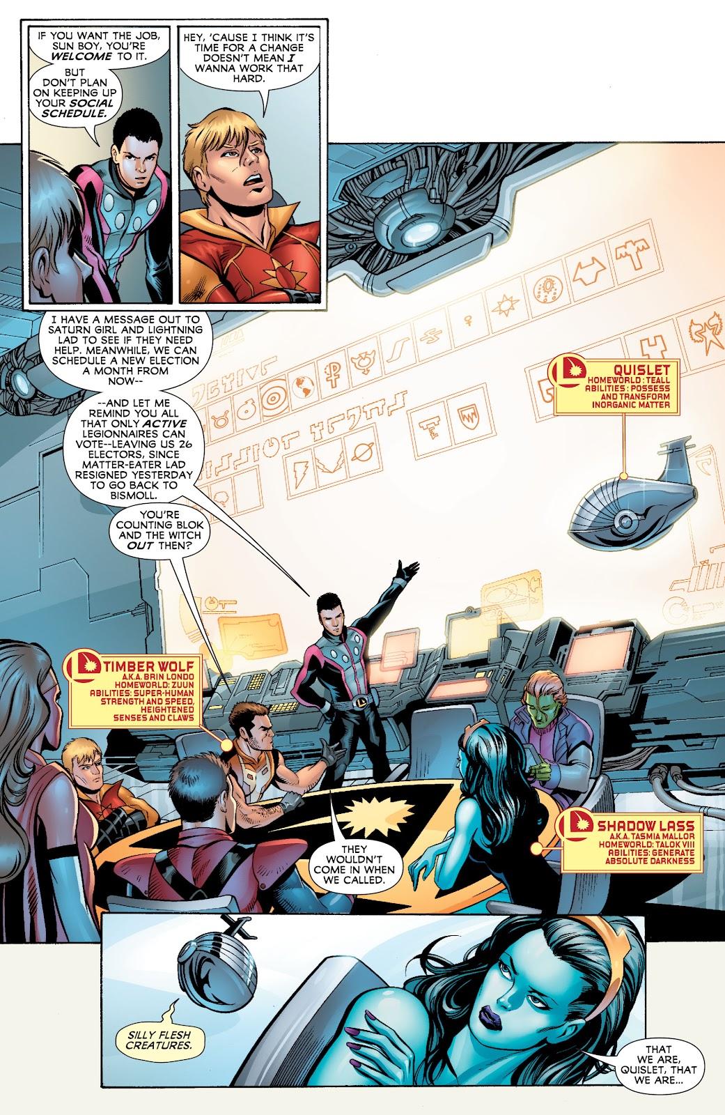 Legion of Super-Heroes (2010) Issue #4 #5 - English 10