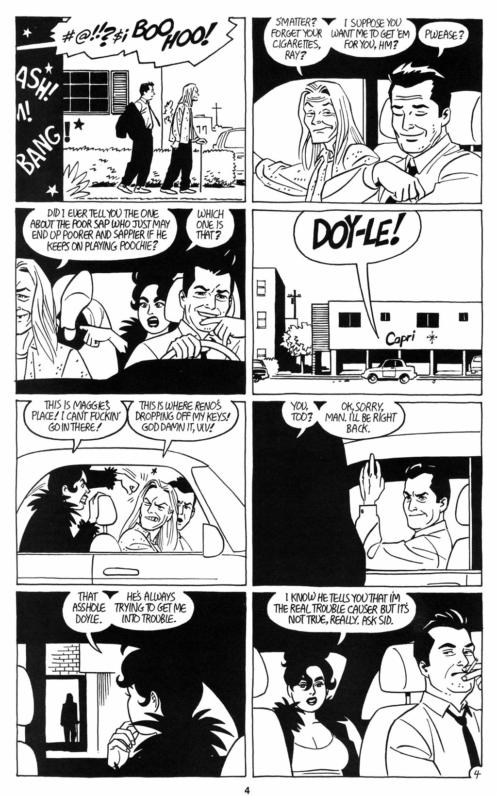 Read online Love and Rockets (2001) comic -  Issue #12 - 5