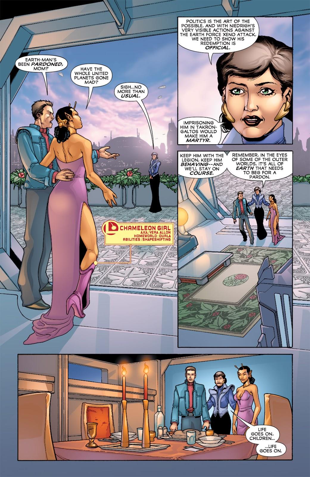Legion of Super-Heroes (2010) Issue #6 #7 - English 14
