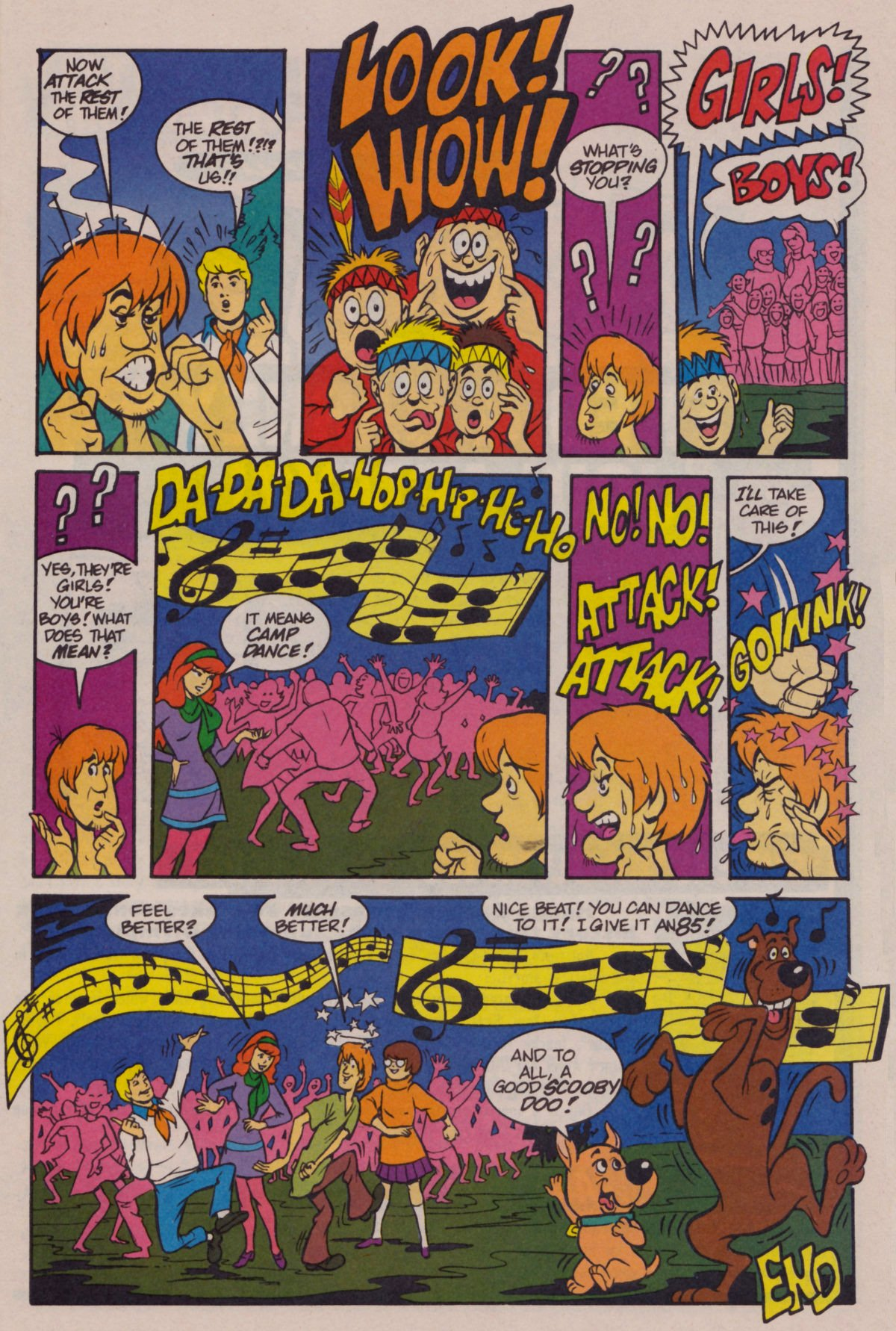 Read online Scooby-Doo (1995) comic -  Issue #11 - 17