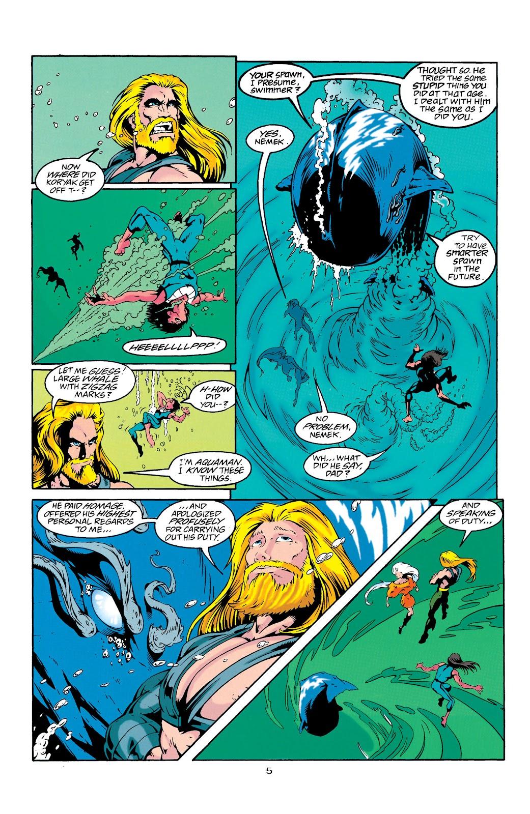 Aquaman (1994) Issue #27 #33 - English 6