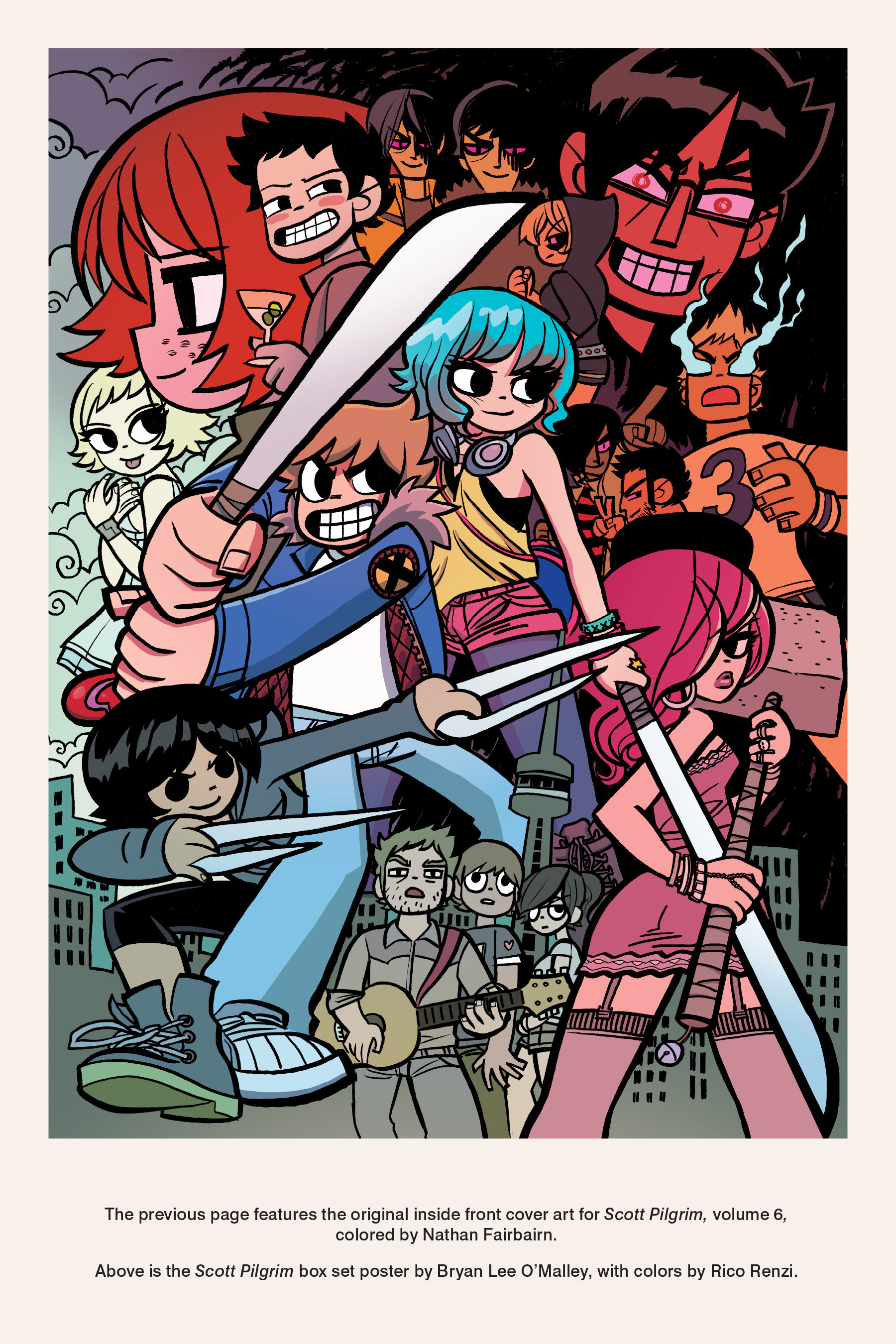 Read online Scott Pilgrim comic -  Issue #6 - 252