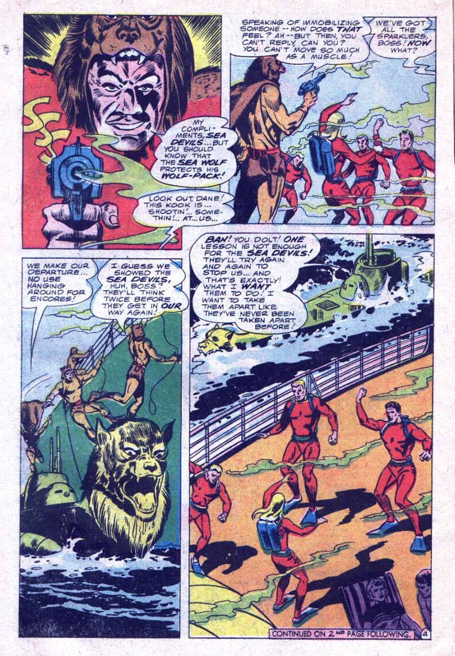 Read online Sea Devils comic -  Issue #33 - 7