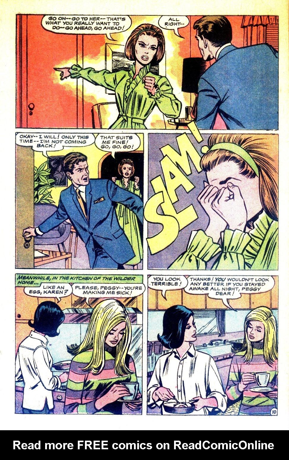 Read online Secret Hearts comic -  Issue #126 - 28