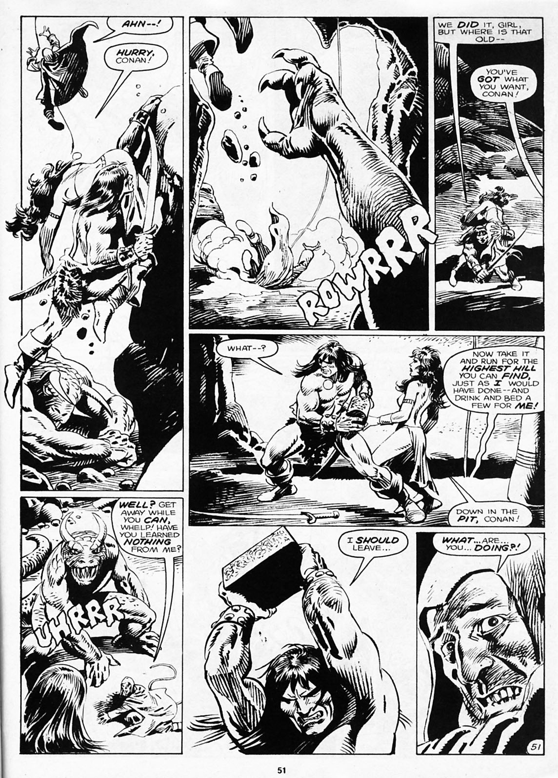 The Savage Sword Of Conan Issue #180 #181 - English 53
