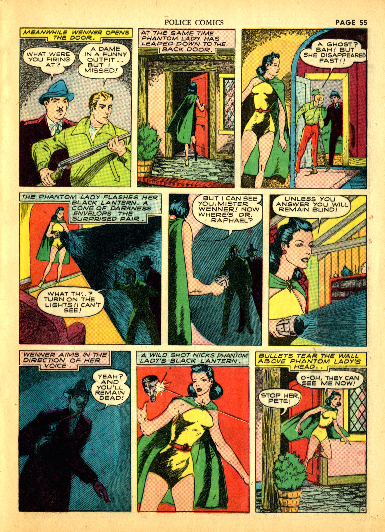 Police Comics #1 #127 - English 58