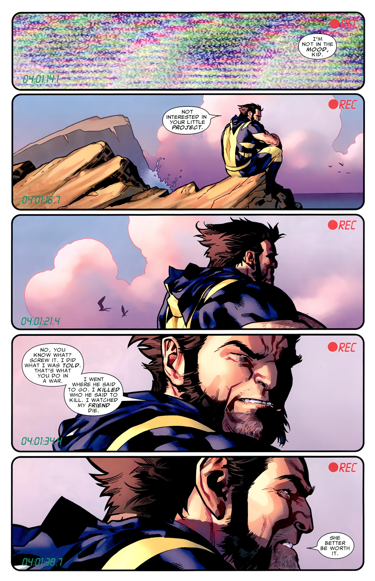 Read online Second Coming: Prepare comic -  Issue # Full - 8