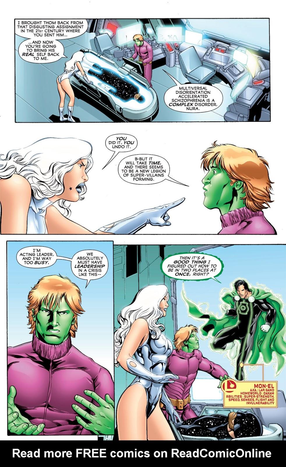 Legion of Super-Heroes (2010) Issue #11 #12 - English 11