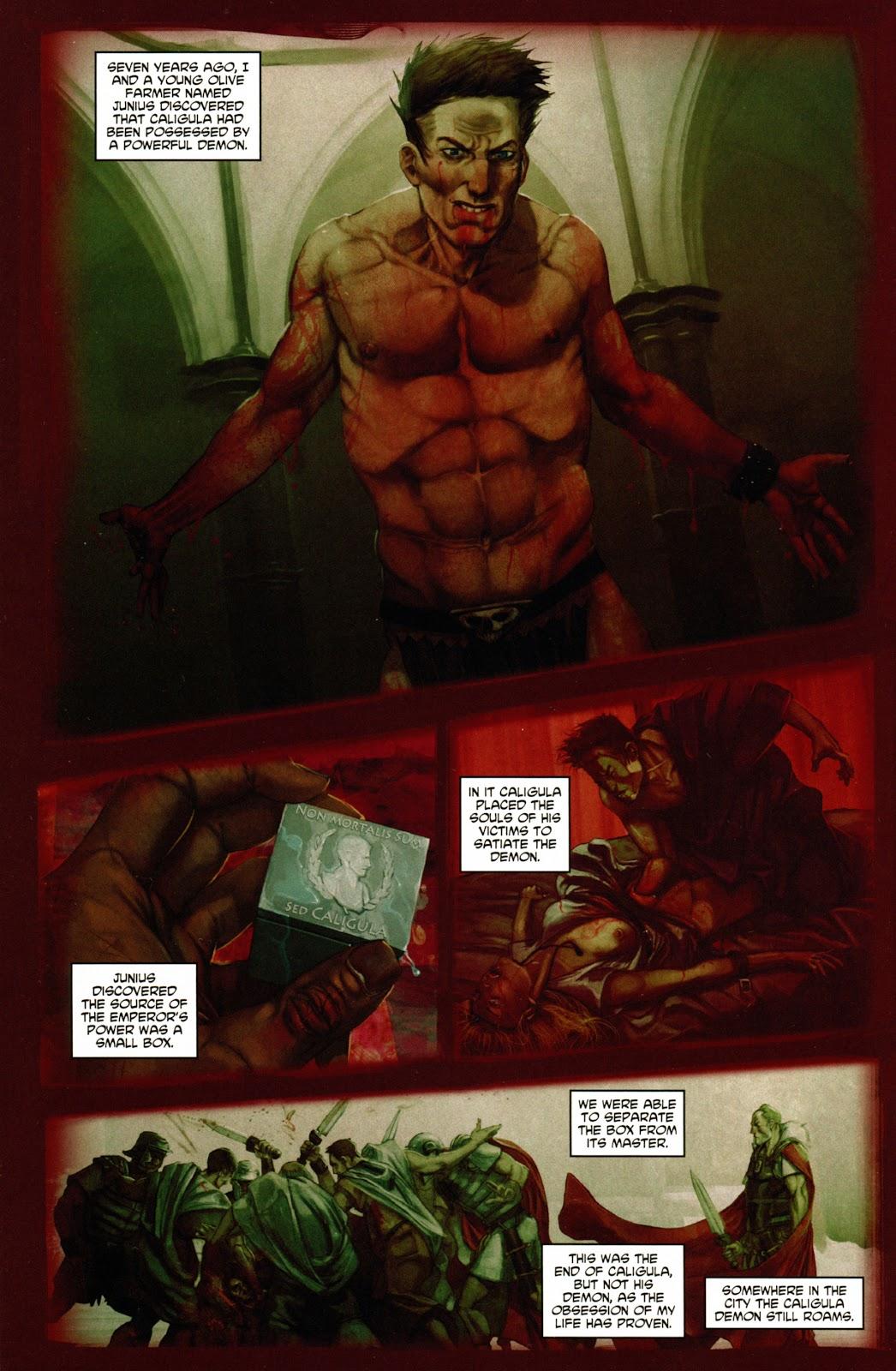 Caligula: Heart of Rome Issue #1 #1 - English 10