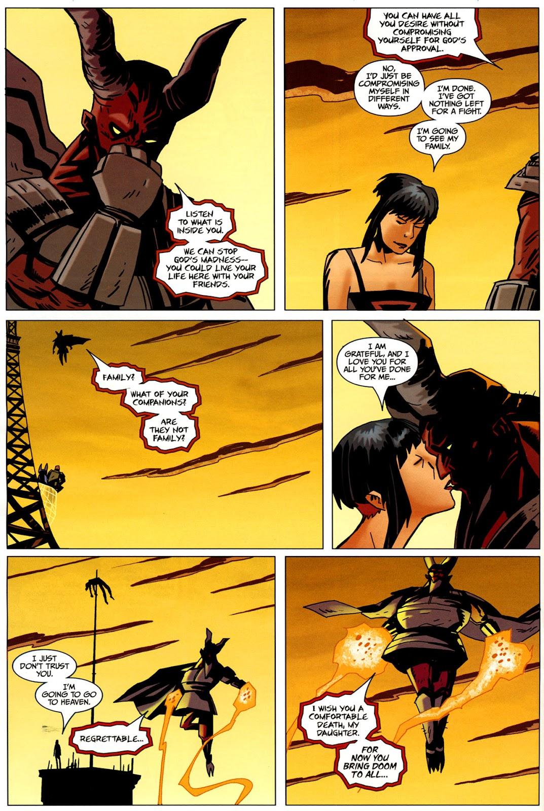 Strange Girl Issue #17 #18 - English 24