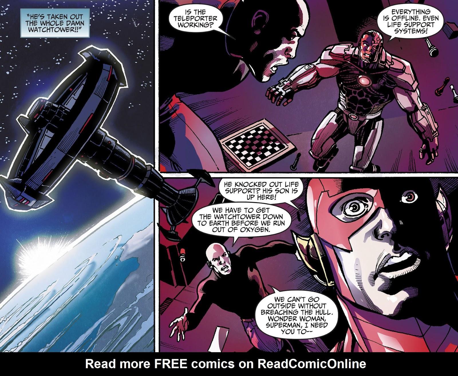 Injustice: Gods Among Us [I] Issue #28 #29 - English 12