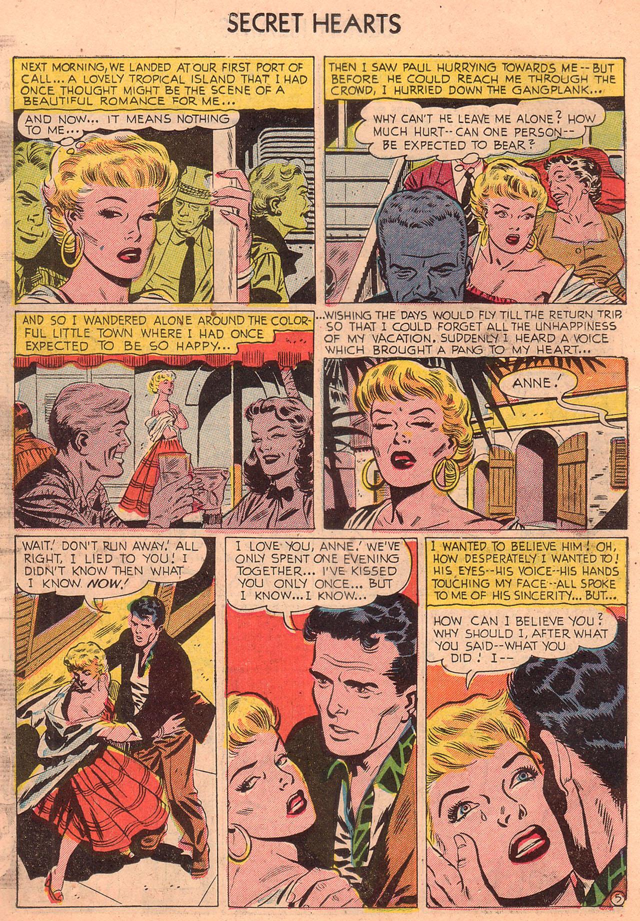 Read online Secret Hearts comic -  Issue #23 - 14