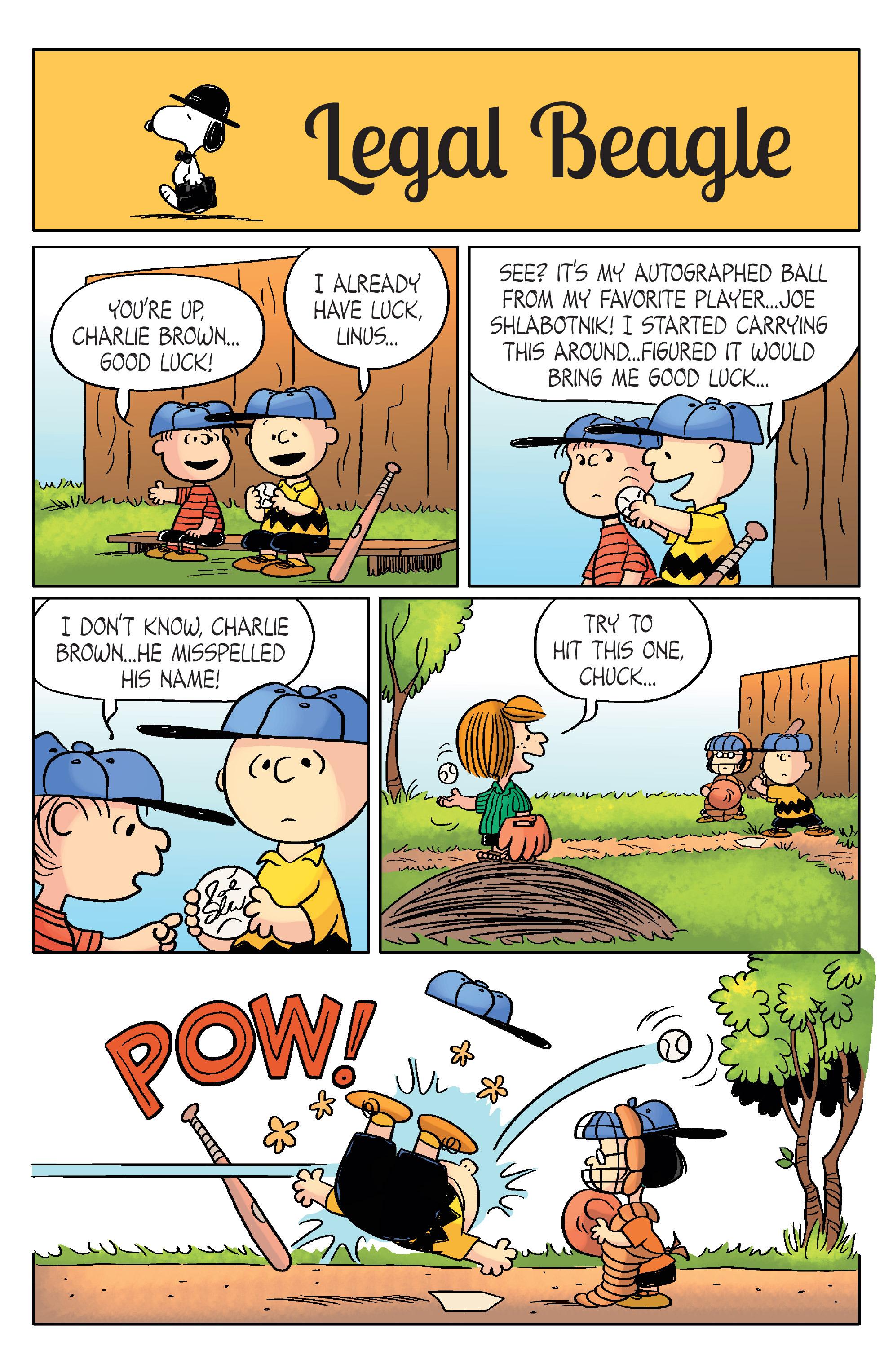 Read online Peanuts (2012) comic -  Issue #20 - 17