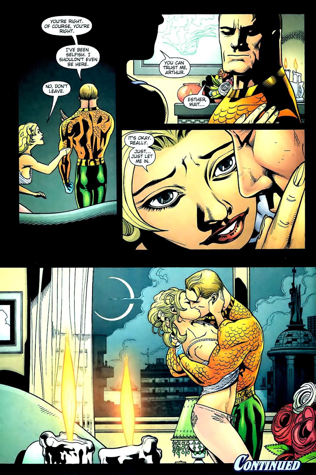 Aquaman (2003) Issue #32 #32 - English 23