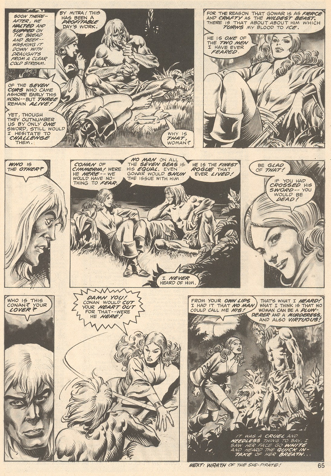 The Savage Sword Of Conan Issue #76 #77 - English 65