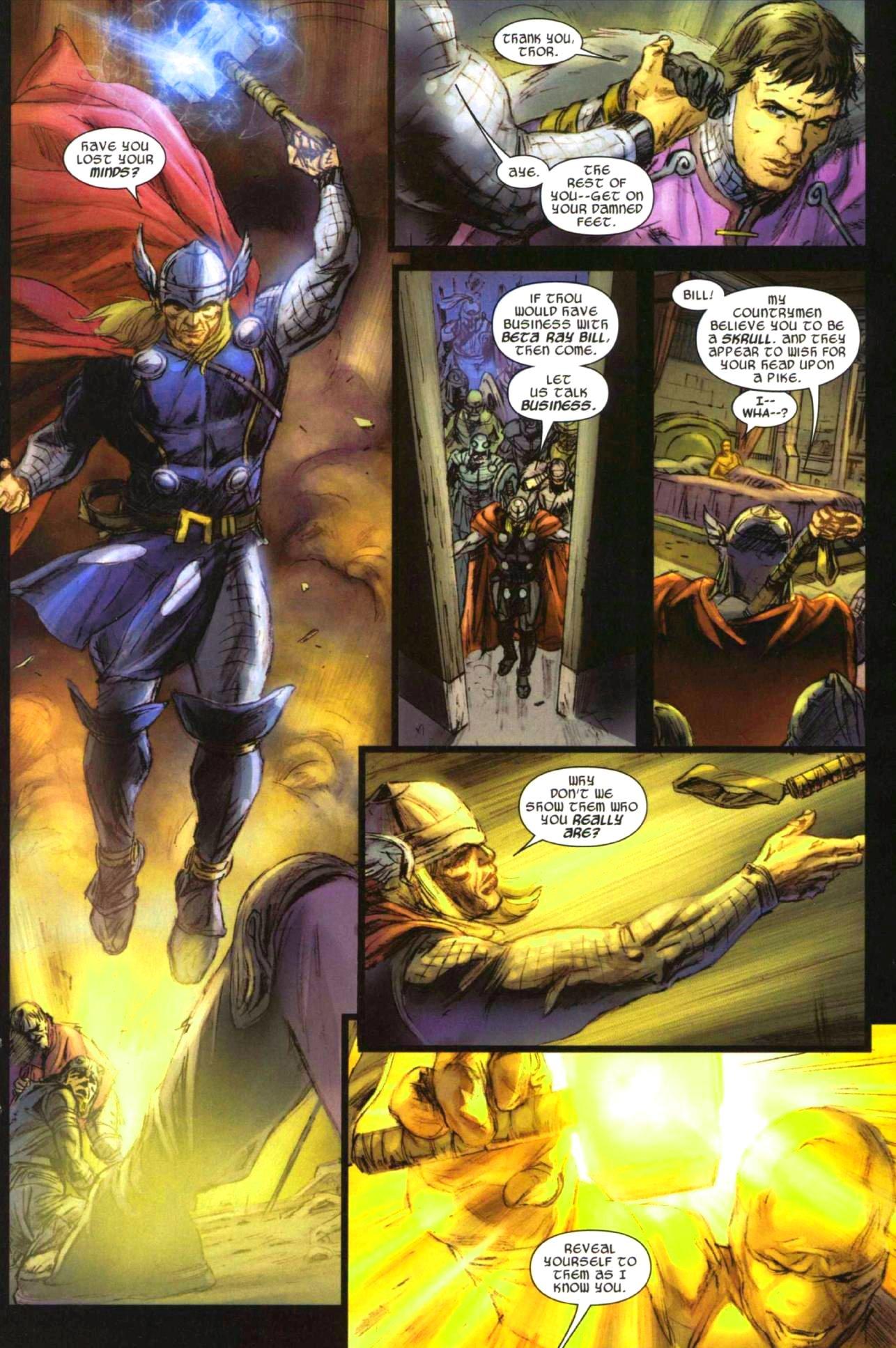 Read online Secret Invasion: Thor comic -  Issue #1 - 17