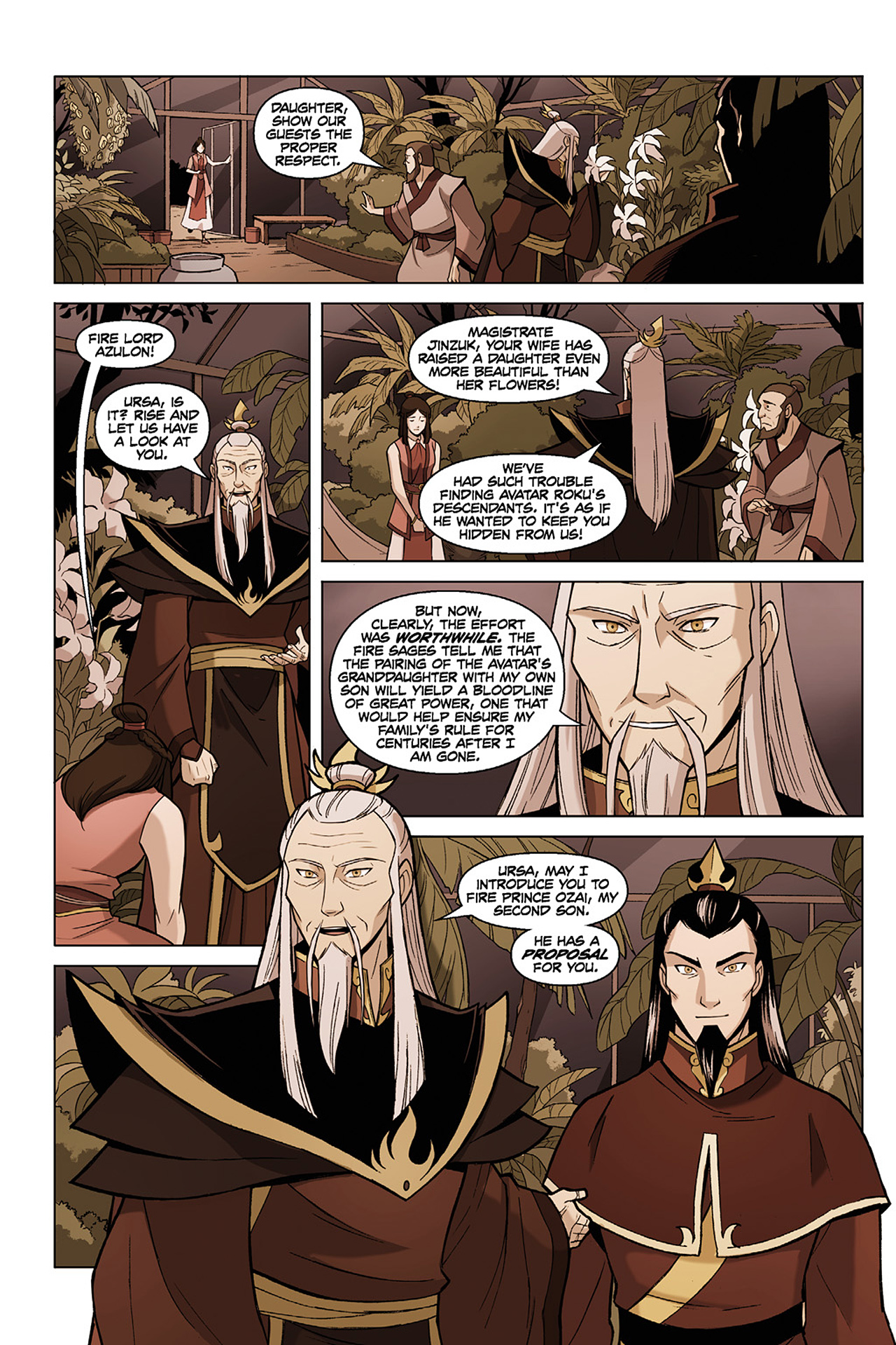 Read online Nickelodeon Avatar: The Last Airbender - The Search comic -  Issue # Part 1 - 16