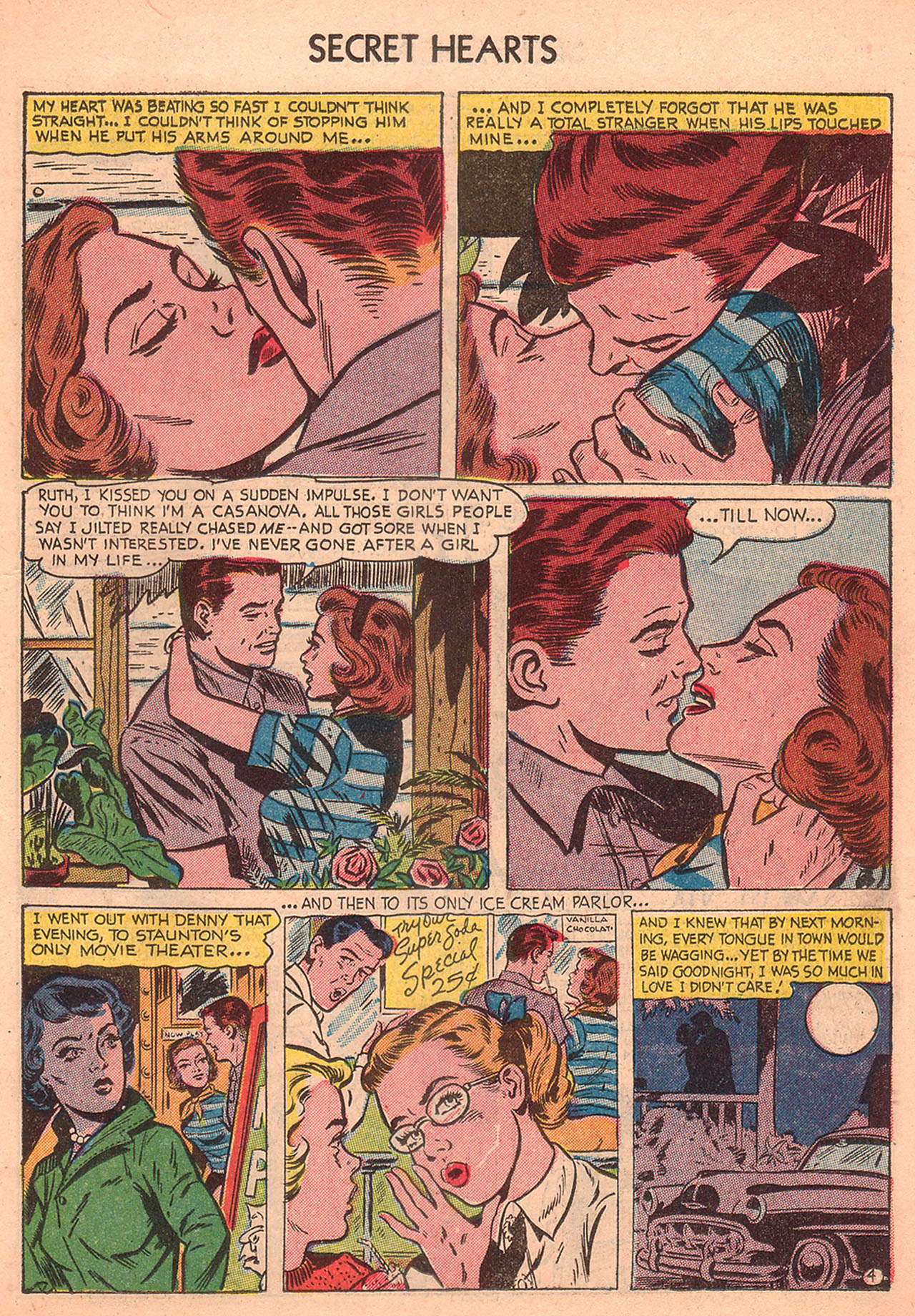 Read online Secret Hearts comic -  Issue #23 - 19
