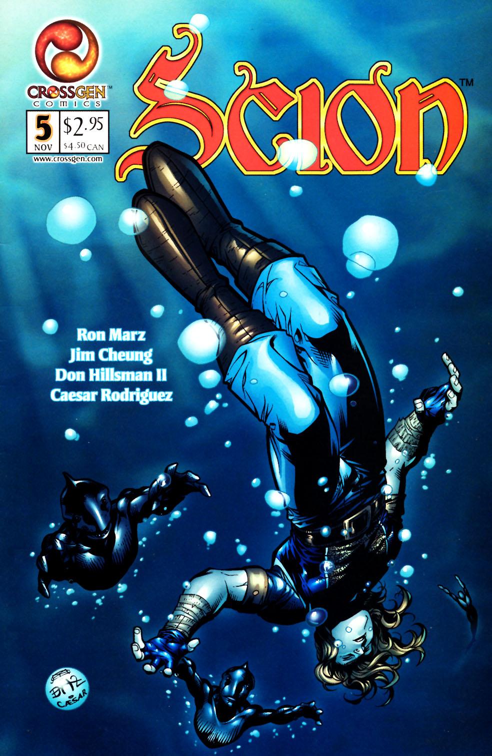 Read online Scion comic -  Issue #5 - 1