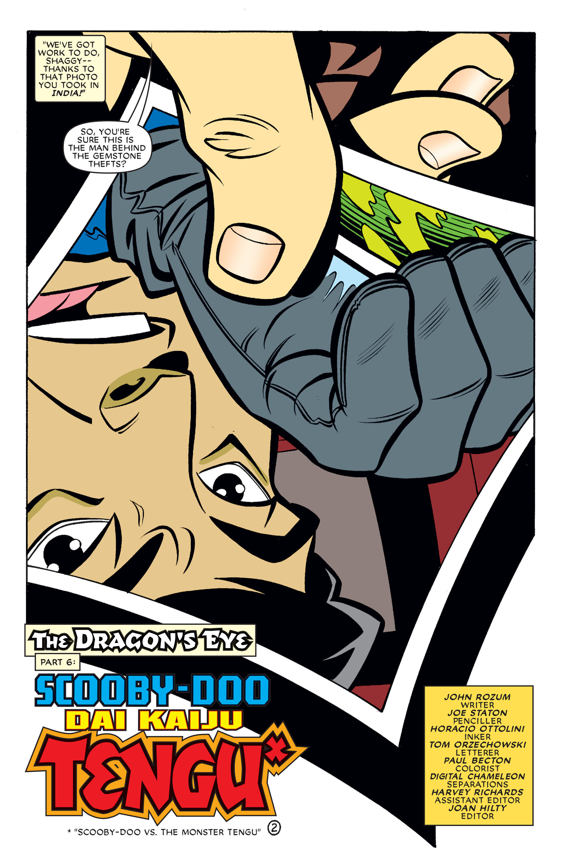 Read online Scooby-Doo (1997) comic -  Issue #64 - 13