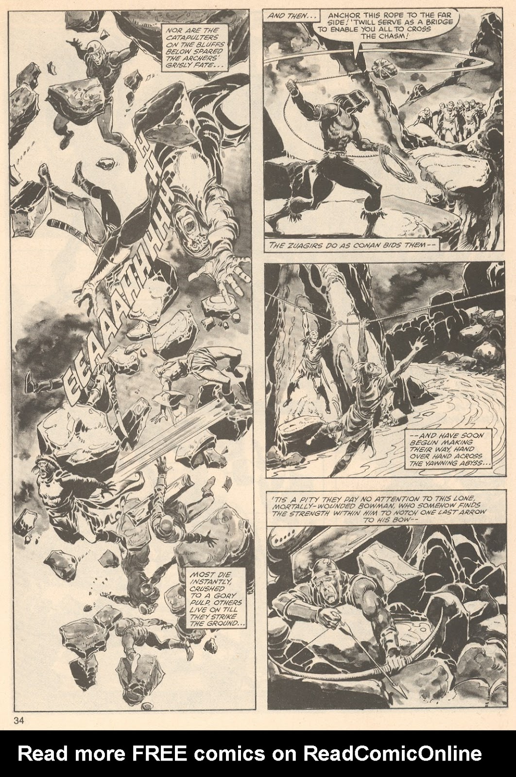 The Savage Sword Of Conan Issue #76 #77 - English 34
