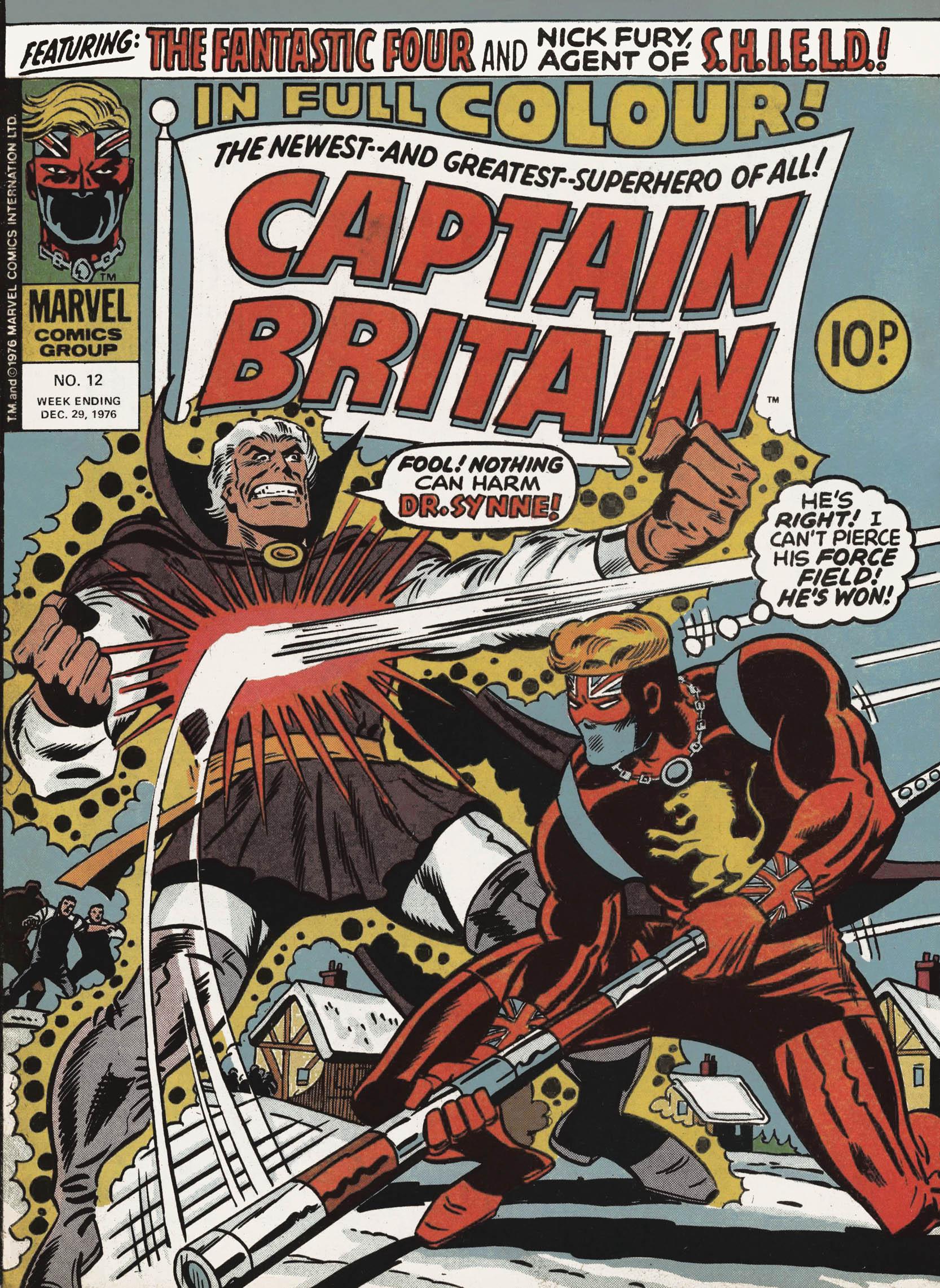 Captain Britain (1976) 12 Page 1
