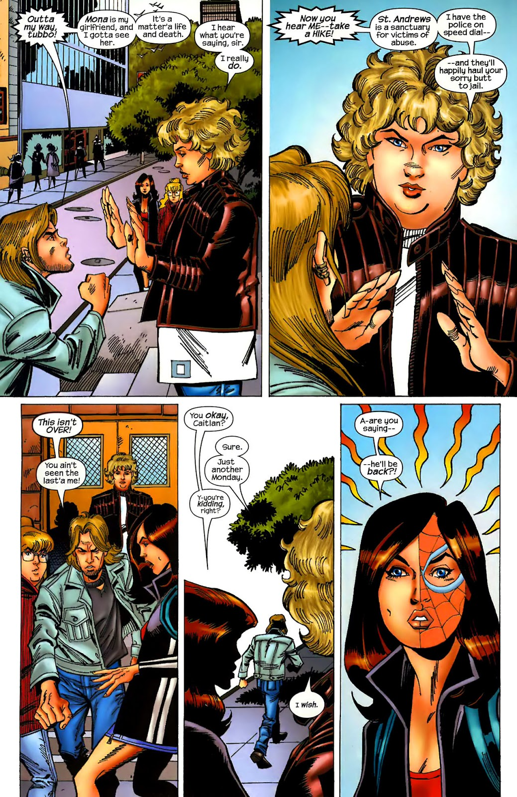 Amazing Spider-Girl Issue #1 #2 - English 10