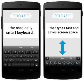 Minuum Keyboard APK v1.2.9 Direct Download