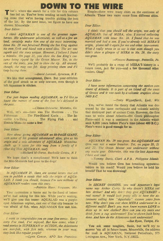 Aquaman (1962) Issue #31 #31 - English 33