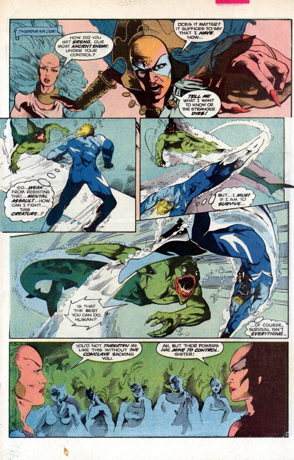 Aquaman (1986) Issue #2 #2 - English 19