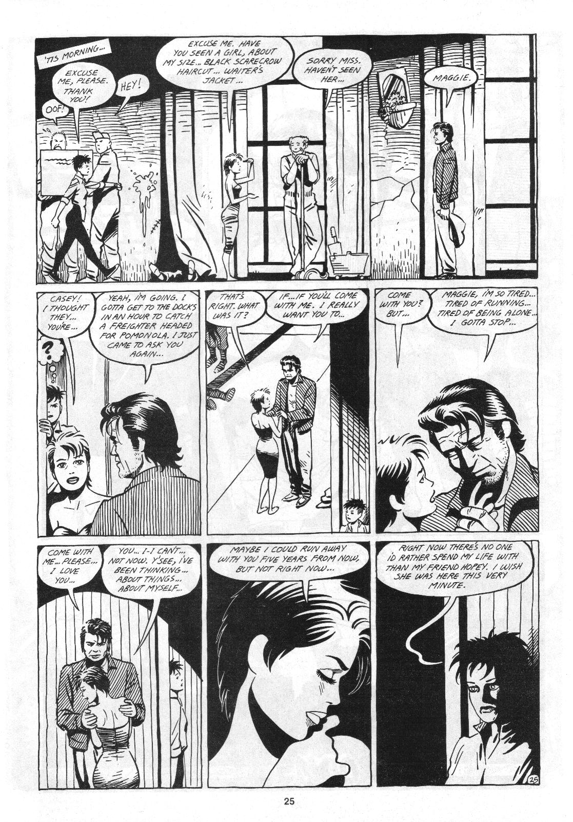 Love and Rockets (1982) Issue #4 #3 - English 27