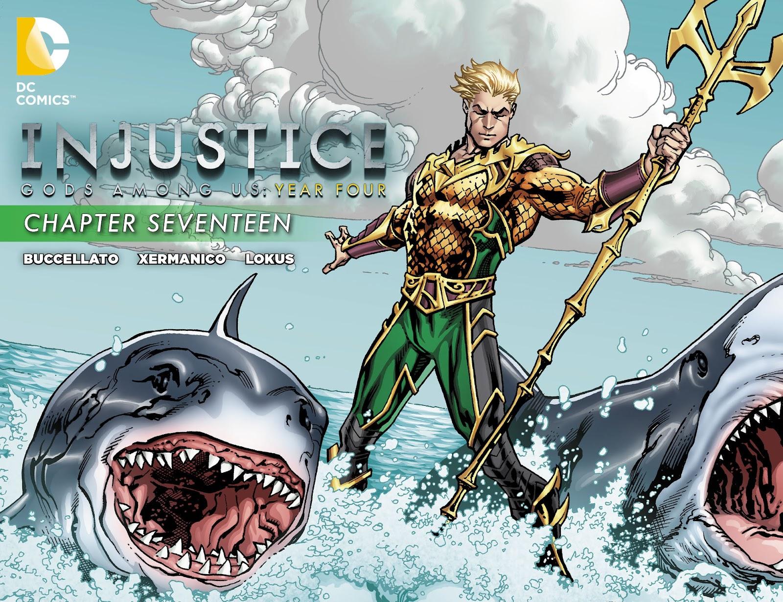 Injustice: Gods Among Us Year Four Issue #17 #18 - English 1